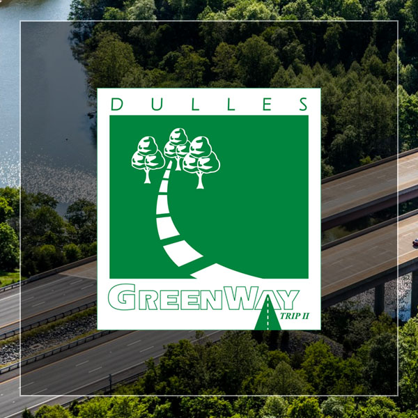 Dulles Greenway logo and link