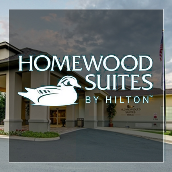 Homewood Suites logo and link