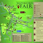2017 Waterford Fair Map